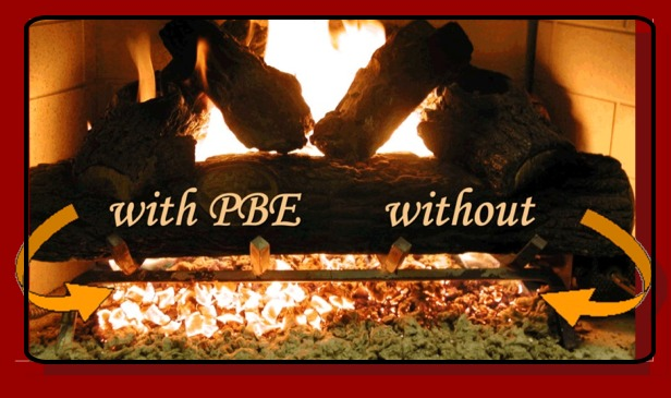 platinum embers rh platinumembers com Gas Fireplace Wool glowing embers for vented gas fireplace